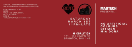(01.03.14) MADTECH RECORDS BRIGHTON AT COALITION