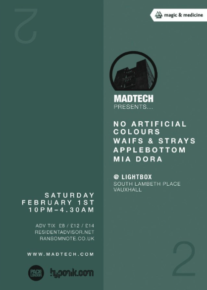 (01.02.14) MADTECH 2 AT LIGHTBOX