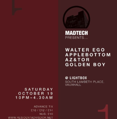 (19.10.13) MADTECH 1 AT LIGHTBOX
