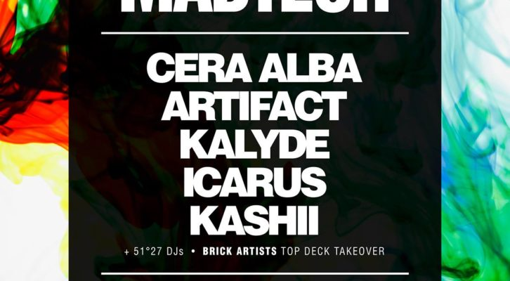 (06.02.2015) MADTECH RECORDS BRISTOL AT THEKLA