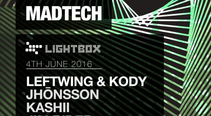 (04.06.16) MADTECH RECORDS SHOWCASE (London)